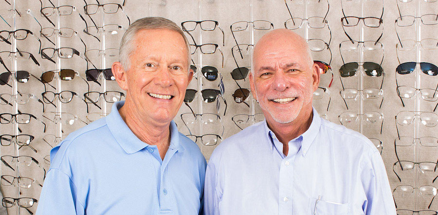 Williams and Vihlen, the founders of eyecare of leesburg